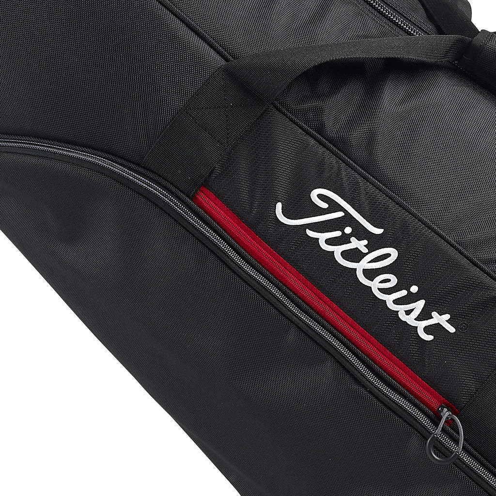 903f0ff1e63 TITLEIST ESSENTIALS GOLF PADDED WHEELED TRAVEL COVER   FLIGHT BAG ...