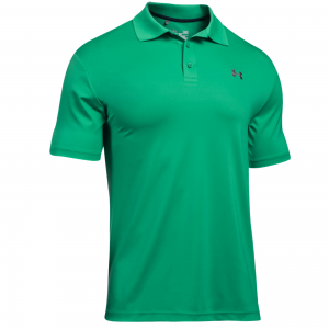 Island green 2018 mobility speed stripe coolpass mens for The tour jacket polo shirt
