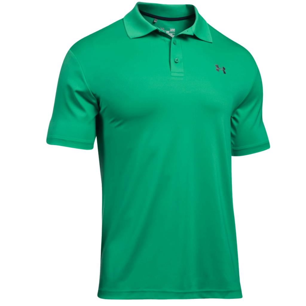 Under armour performance 2 0 tour logo golf polo shirt for Under armor polo shirt