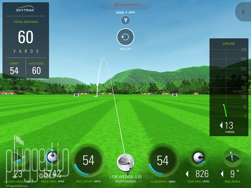 Skytrak Launch Monitor Golf Simulator 163 1895 00