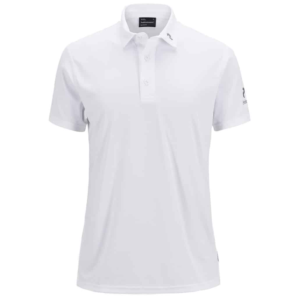 peak performance panmore nl polo shirt white hotgolf. Black Bedroom Furniture Sets. Home Design Ideas