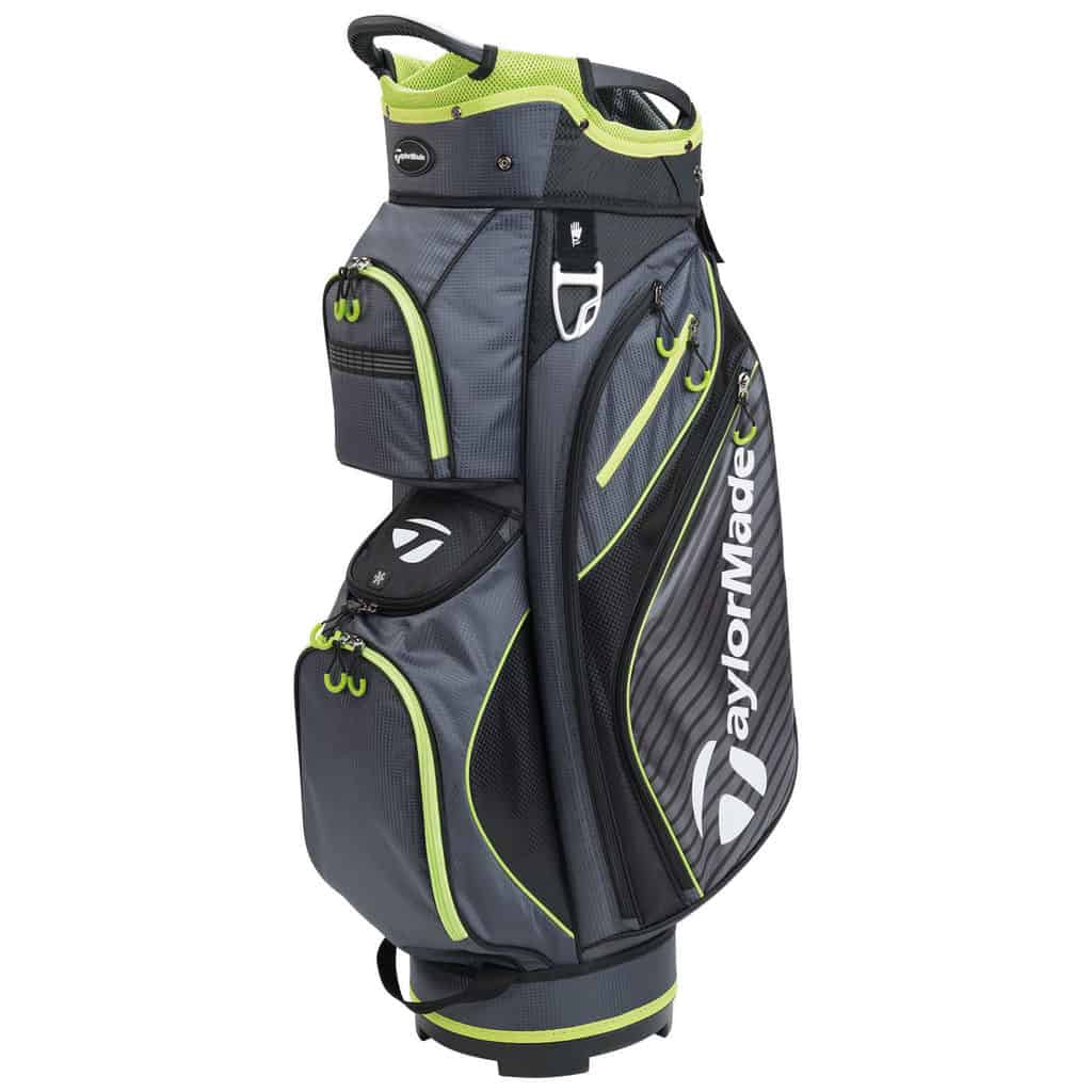 Taylormade Pro 6 0 Cart Trolley Bag Black Lime Hotgolf