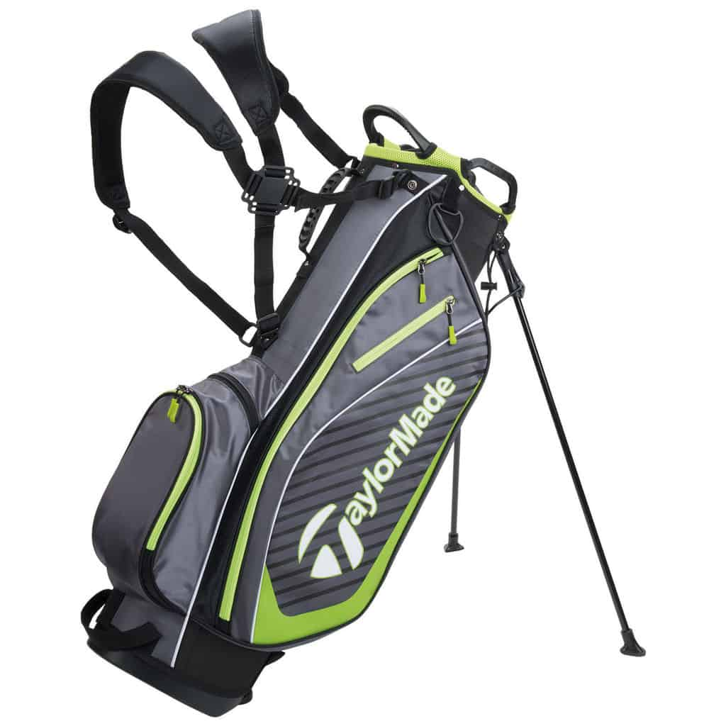 Taylormade Pro 6 0 Stand Carry Bag Black Lime Hotgolf