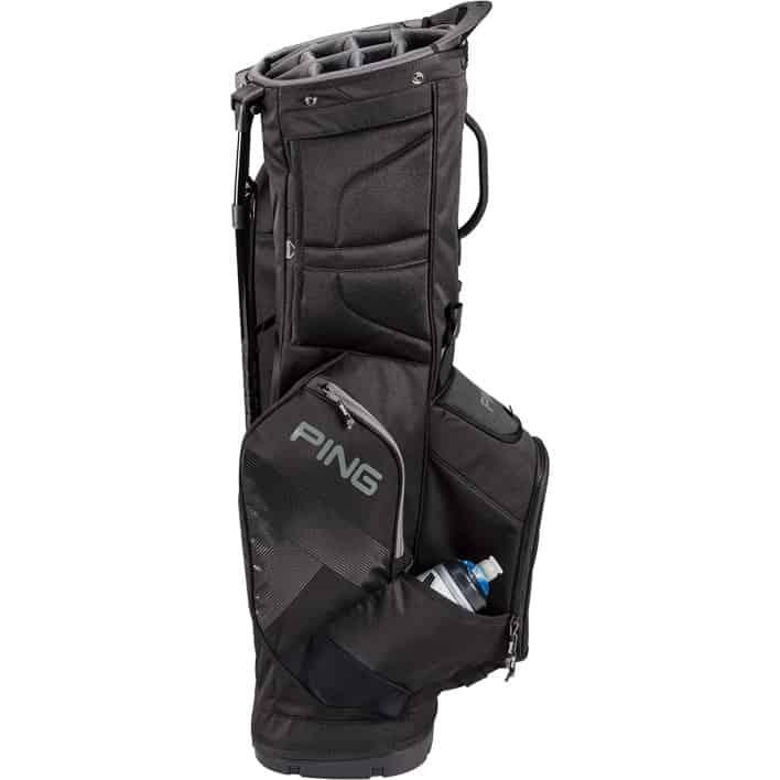 Ping 2019 Hoofer 14 Golf Stand Bag Black Hotgolf