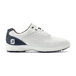 FOOTJOY ARC SL SPIKELESS GOLF SHOES 59704 – WHITE / NAVY