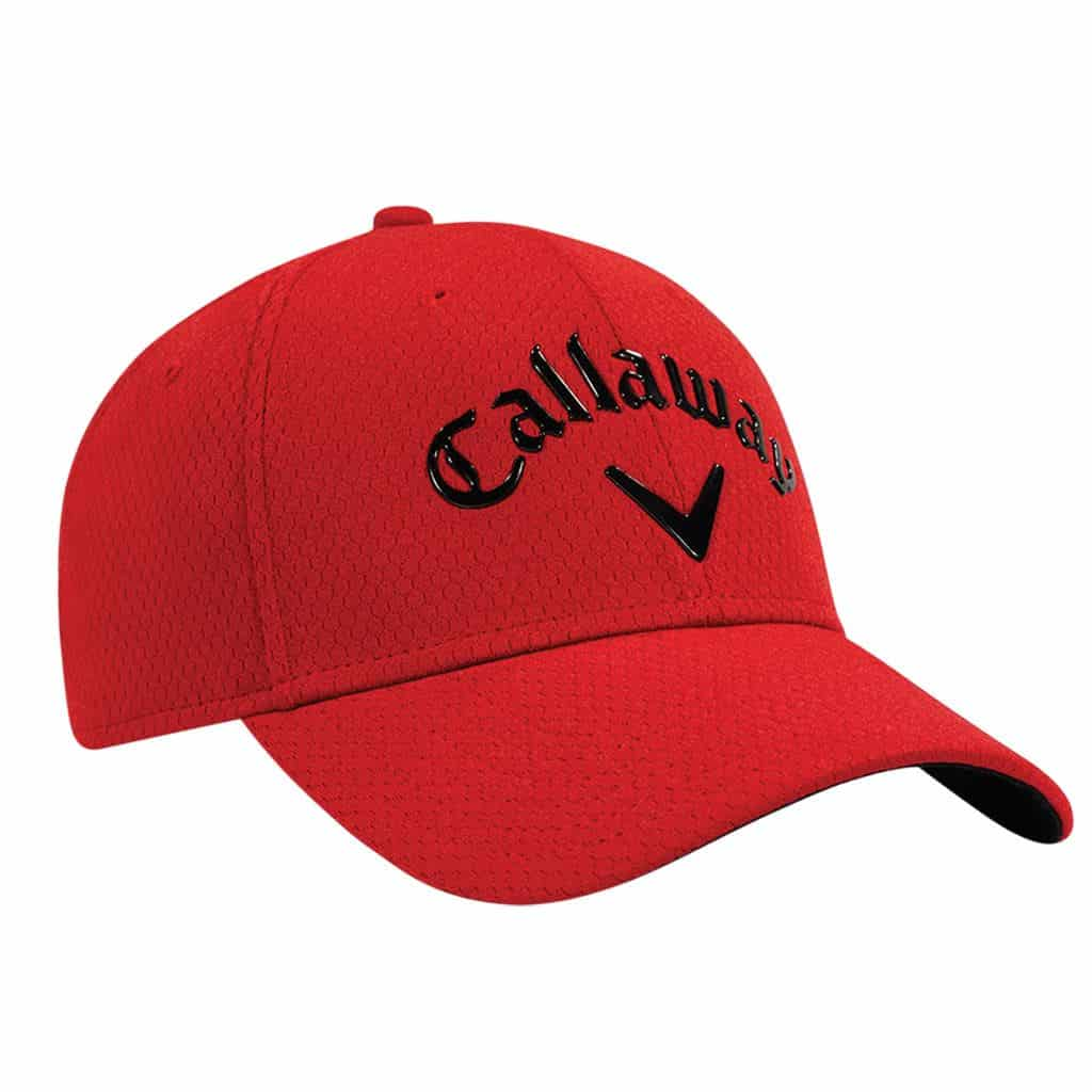 CALLAWAY LIQUID METAL MENS ADJUSTABLE GOLF CAP   RED - HOTGOLF 170dd6ef4d8