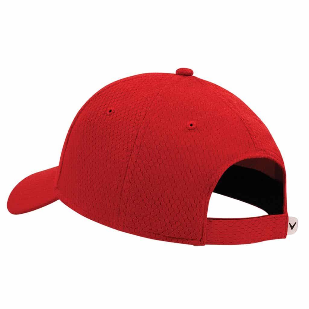 f9e9303aae8 CALLAWAY LIQUID METAL MENS ADJUSTABLE GOLF CAP   RED - HOTGOLF