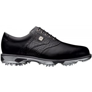 FOOTJOY DRYJOYS TOUR MENS GOLF SHOES 53678 – BLACK CROC 90bb651b2