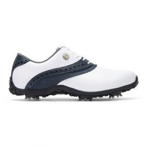 FOOTJOY ARC LP LADIES GOLF SHOES 93951 / WHITE / NAVY