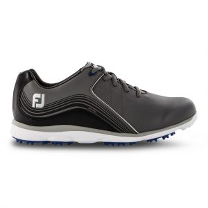 FOOTJOY PRO SL LADIES GOLF SHOES 98102 / CHARCOAL / BLACK
